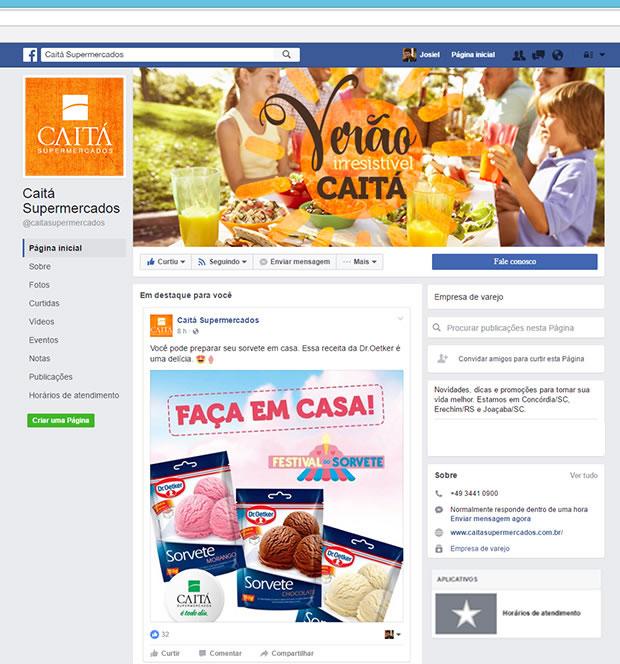 Caitá Supermercados - Verão 2017