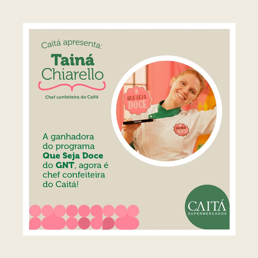 Caitá - Chef Confeiteira